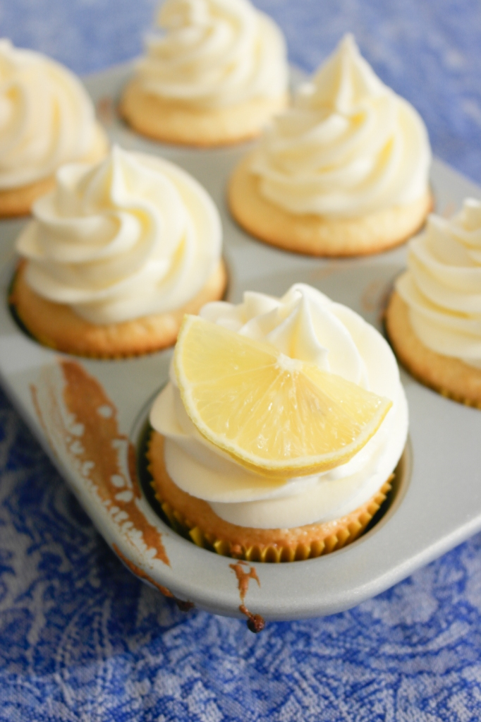 Lemon Lime Olive Oil Cupcakes
