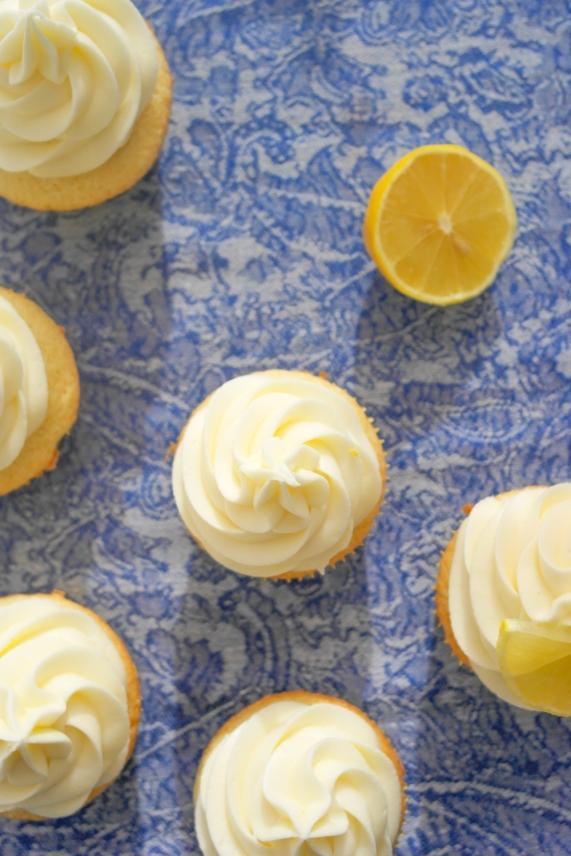 Lemon Lime Olive Oil Cupcakes