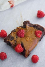 Raspberry Dulce de Leche Brownies
