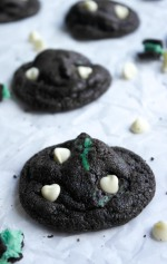 Double Chocolate Mint Oreo Cookies