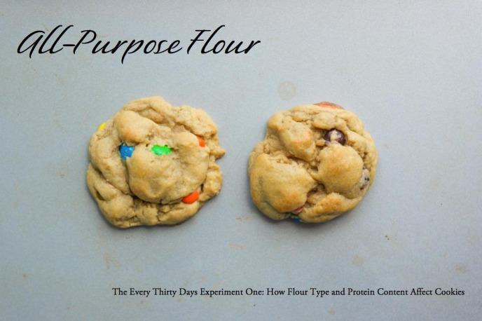 Affect of Flour Type and Protein Content on Cookies