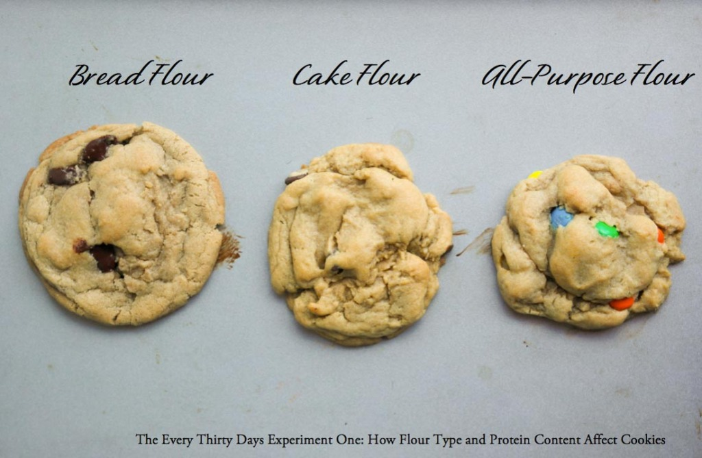 Cake Flour Bread Flour Chocolate Chip Cookies