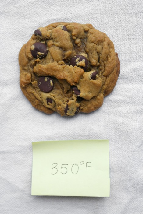 Affect of temperature on cookies