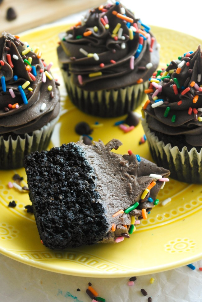 Chocolate Quinoa Cupcakes