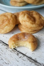 Soft and Thick Snickerdoodle Cookies