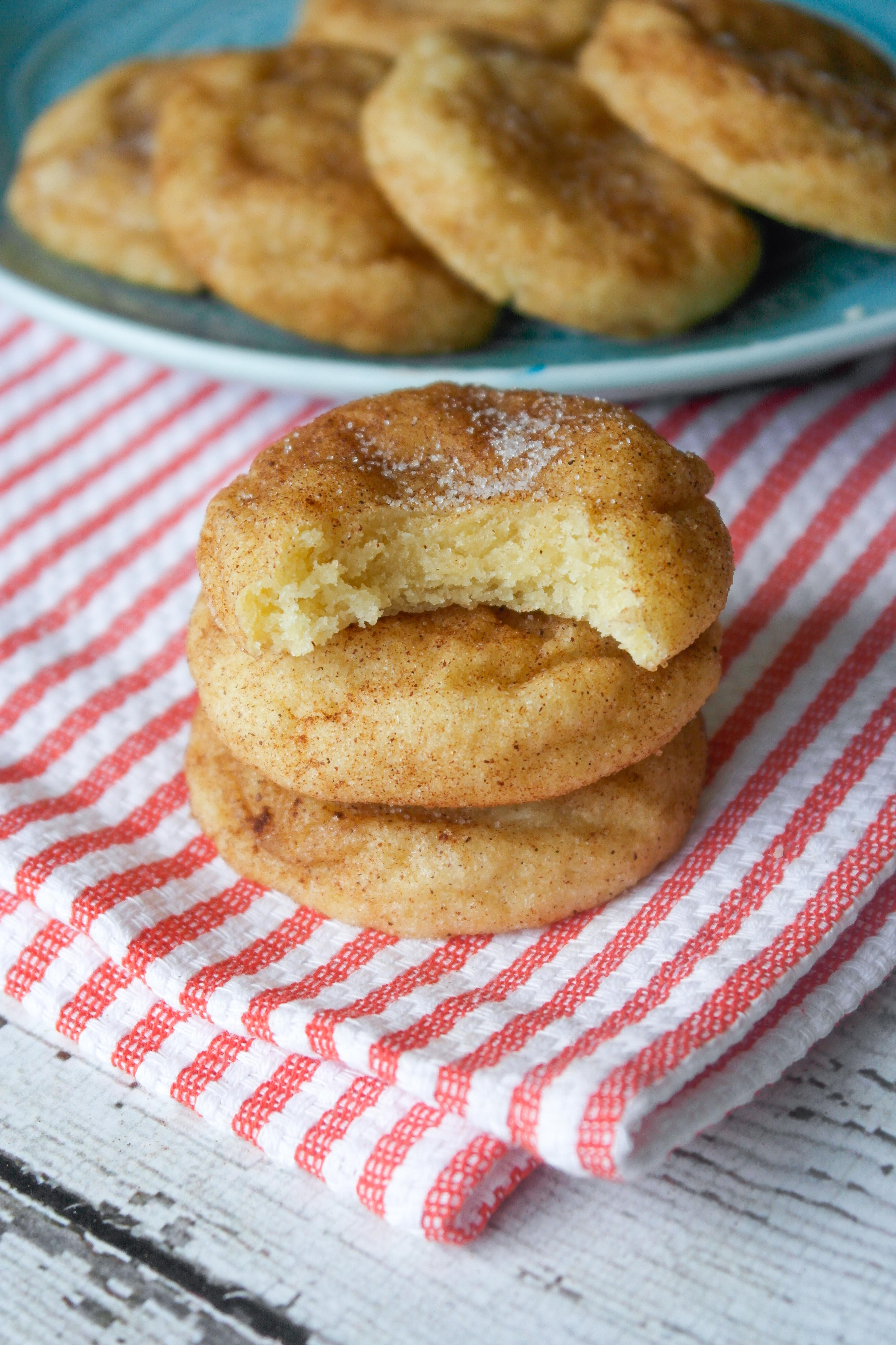 Soft And Thick Snickerdoodle Cookies Baking Is A Science