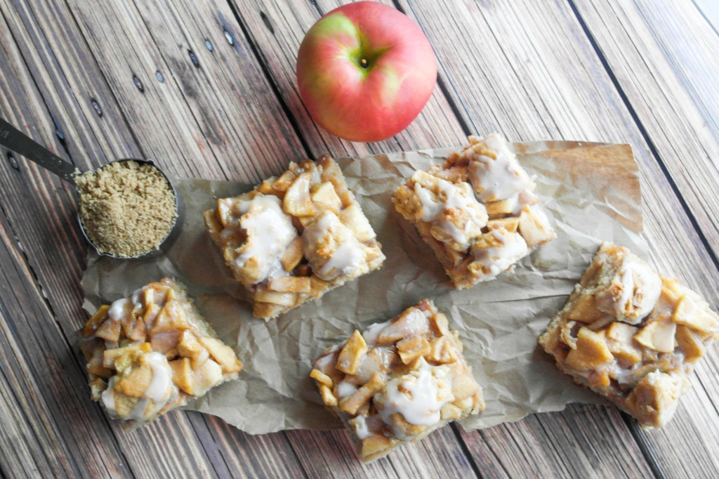 Apple Cake Bars