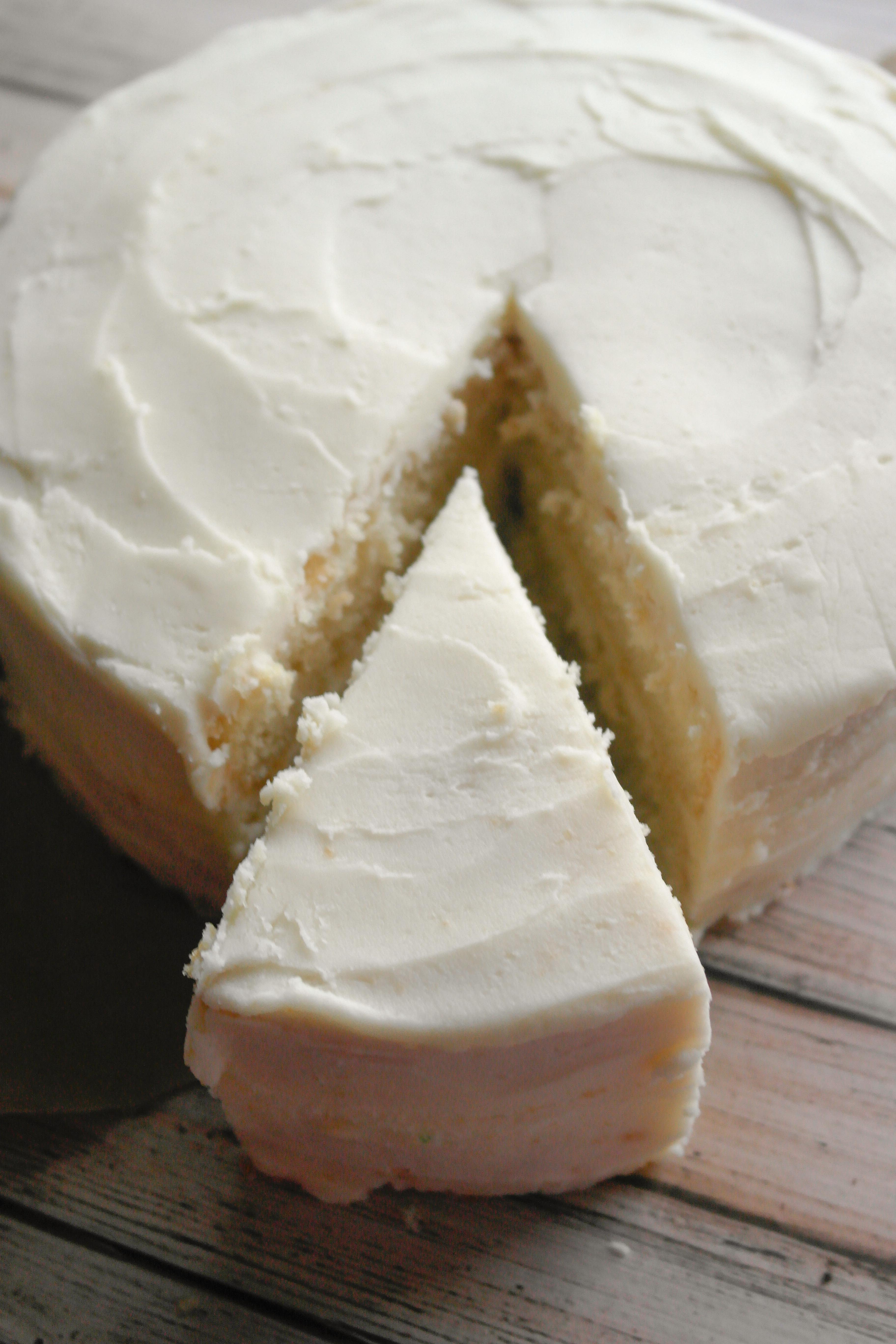 Cake Made With Yogurt Instead Of Butter