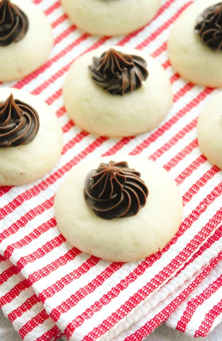 Nutella Thumbprint Cookies
