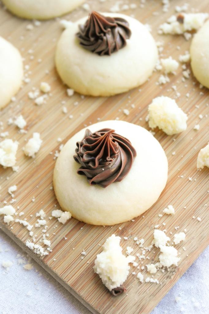 Nutella Thumbprint Cookies